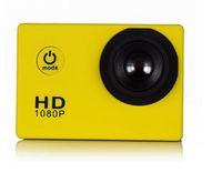 Wholesale 2016new SJ4000 freestyle D001 inch LCD P Full HD HDMI action camera meters waterproof DV camera sports helmet SJcam DVR00Multicolor