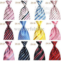 Wholesale 10CM inch Mens business Stripes Necktie Neck Ties