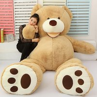 Wholesale Made in china American Bear plush toy doll bear hug Joe Chen with paragraph Big Bear boys and girls gifts