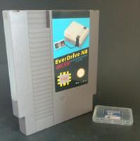 Wholesale Everdrive N8 China Version V1 with GB md Megaman super Earthbound Game Card Sega Genesis Megadrive Cartridge