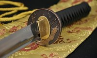 Wholesale 41 quot Hand Forged Japanese Samurai Sword KATANA Folded Steel Full Tang Blade SHARP