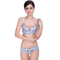 Cheap Wholesale-Lace Lingerie Women Bra Set Push Up Triumph Bra Sets Brand Cute lingerie Bra Brief Sets