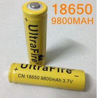 Wholesale 120pcs up battery V mAh rechargeable lithium battery for Led flashlight litio battery cell FEDEX fast