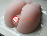 Wholesale vdowell TOP Quality pc kgs lifelike Silicone sex Ass Hips sex doll Realistic Vagina and Ass Male Masturbator sex product