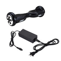 Wholesale Universal Hoverboard Charger Electronic Scooters Battery Charger for smart balance wheel US UK AU EU Plugs V A DHL Free