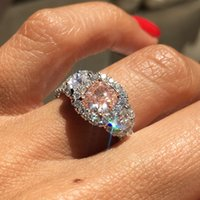 certified diamonds - 1 CT Cushion Cut Natural Fancy Pink Diamond GIA Certified K White Gold Ring