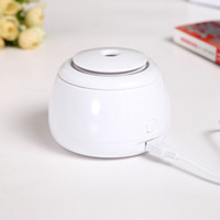 aroma beauty - New USB Portable Mini Water Humidifier Air Essential Oil Diffuser Aroma Mist Maker Blue Home Office Hotel Ultrasonic Humidifier Beauty