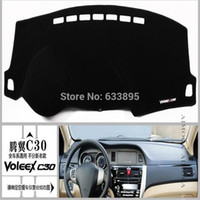 Wholesale Dashboard mat dark visor keeps sun Embroidery section For Great Wall voleex C30