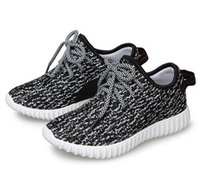 Wholesale Kamatiti best quality Yeezy Moonrock Oxford Tan Pirate Black Running shoes snakers with yeezy bag receipt size US4