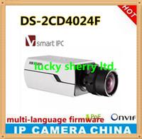 Wholesale Multi language Hikvisio original MP gun type network camera DS CD4024F CMOS