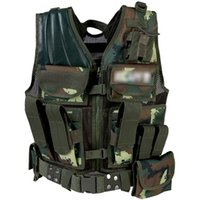 Wholesale New Military Tactical Vest Wargame Body Armor Sports Wear Hunting Vest CS Outdoor tactical airsoft Equipment