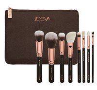 Wholesale COMPLETE MAKEUP BRUSH SET Professional Luxury Set Make Up Tools Kit ZOEVA ROSE GOLDEN Powder Blending brushes