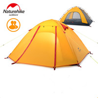 Wholesale 2016 DHL Naturehike Person Ultralight Tent Camping NH T Double Professional Waterproof MM Tent kg