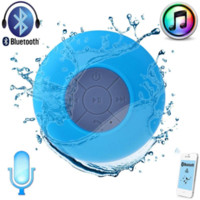 Wholesale Subwoofer portable waterproof shower Wireless Bluetooth Speaker Car Handsfree receive phone song called suction Mic for iPhone