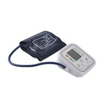 Wholesale Fully Automatic Digital Upper Arm Blood Pressure and Pulse Monitor Sphygmomanometer Portable Blood Pressure Monitor NON INVOICE