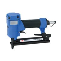 Wholesale Air Stapler A1022J C Pneumatic Nail Nailer Gun Narrow Crown Pneumatic Stapler mm U Style Nail mm BAR psi Staples