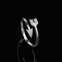 archery jewelry - 925 Sterling Silver Sparkling Archery Design Silver Ring for Women Compatible with Jewelry Opening rings