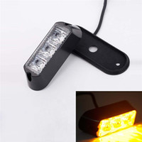 Wholesale 30PCS W LED Car Truck Flashing Strobe Emergency Warning Light Lamp Waterproof V V Amber