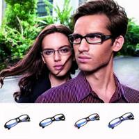 Wholesale 150pcs LJJG177 Factory Price Radiation Eye Strain Protection Glasses Computer PC TV Vision Radiation Professional Goggles Glass UV400 Glass
