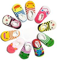 baby alive accessories - Baby Alive Accessories Asymmetry Floor Socks Baby Boys and Girls Socksip Cotton Cartoon baby socks New Born Anti Slip Socks