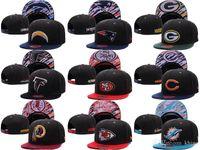 army football hats - khjgs PACKERS Snapbacks All Team Football Snap Back Hats Flat Caps Hip Hop Snap Backs Cap Cheap women men Sports Hats