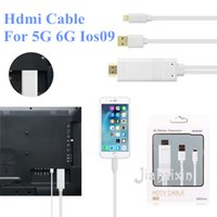 Wholesale MHL HDMI cable M TV connection phone P HD hdmi adapter cable converter adapter cable for iphone5 s s