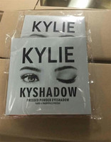 Wholesale 15pcs New Makeup Kylie Cosmetics Bronze Eyeshadow Jenner Kyshadow Pressed Powder Kit Palette Bronze Long lasting Matte colors IN STOCK