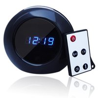 Mini DV audio clock - Mini DVR video cameras Multi Function Alarm Clock Cam X960 Spy Clock Camera Audio Video Recorder Camcorder Motion Detection DVR