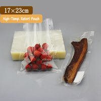 beef packages - 100 x23cm Retort Food Packaging Bags Degree High Temperature Durable Vacuum Bags For Beef