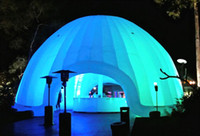 advertising events - 5m inflatable igloo dome tent advertising event decoration exhibition promotion