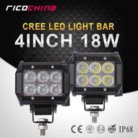 Wholesale 2 CREE W inch Offroad LED Light Bar Combo Beam Led Work Light for V V ATV SUV Trucks WD X4 Led Driving Lamp