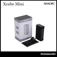 al por mayor x control de cuadro-Control de Temperatura auténtica Smok X CUBO Mini Mod Smoktech XCube Mini TC75W Caja Mod Mod TC Ajuste para Smok TFV8 tanque 100% Liquidación original