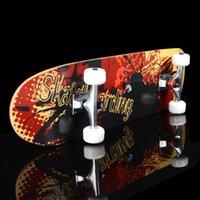 wholesale skateboards - profession Maple wood four wheels skateboard cm Adult skateboards Extreme sport longboard