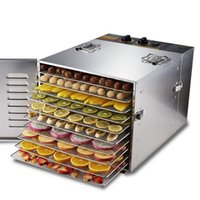 dehydrator - fruit tray dryer Dry fruits vegetables commercial Tray Stainless Steel Food Jerky Fruit Dehydrator dryer