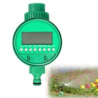 automatic sprinkler valve - LCD Waterproof Automatic Electronic Garden Water Timer Solenoid Valve Garden Irrigation Sprinkler Control Watering System