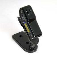 Wholesale 32GB WiFi IP Camera Mini DV Wireless IP Camera Portable Security Survellance Camcorder Video Recorder Mini DVR NEW MD80 MD81S