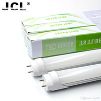 Wholesale 4ft mm T8 Led Tube Light High Super Bright W W W Warm Cold White Led Fluorescent Bulbs AC110 V FCC for FEDEX
