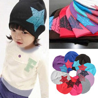 adorable baby gifts - Baby Kids Toddler Hat Adorable Star Pattern Headgear Beanie Cap Winter Gift HKK