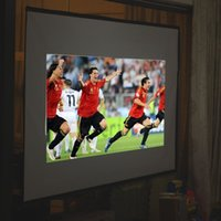 Wholesale 100 inch Foldable Projector Screen Home Projection Cinema Fabric Theater