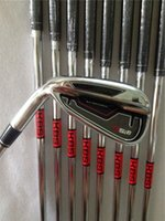 Wholesale Left handed Golf clubs Rsi1 Irons PAS With Kbs tour Steel S shaft Rsi Golf Irons Come headcovers