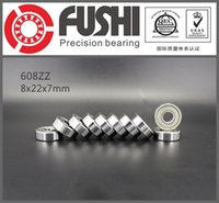 Wholesale 608ZZ ABEC mm mm mm Z x22x7mm Miniature Ball Bearings