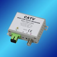 bandwidth converter - CATV MINI AGC FTTH OPTICAL RECEIVER FTTH Way output CATV AGC receiver with work bandwidth MHz AGC function