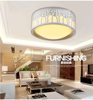 Wholesale Acrylic style LED ceiling Lights W bulbs lamp for bedroom dining room with Figure body white Children Tree Dimmable color