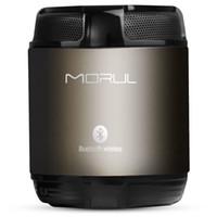 aluminum pannel - Real Morul H1 Bluetooth Subwoofer Speakers Mini Portable Hifi music player LED touch pannel Smart Phone PC Bluetooth Speakers