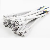 Wholesale T5 T8 LED Tube word wire cable product line with three holes to extend the three pin plug power cord with plug