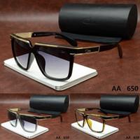 Wholesale 2016 Ca zal Brand Tom Designer men woman ver MIU Sunglasses Ford with origianal box dita carrer Versacey Crocodile Gafas Outdoor glasses