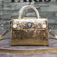 advanced alloy - Stylish metal color Genuine Leather handbags luxury brands women s favorite handbags the use of advanced alloy metal
