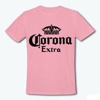 beer band - Brand Tops Beer Corona Extra Band T shirt Men amp Women Summer Letter Tshirt Casual Short Sleeve Crown Tee T Shirts Femme T F10860