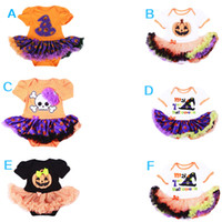 baby mini romper - 2016 New Popular Halloween Girl Dresses Romper Onesies Dresses tutu Baby clothes Dress For Babies Girls Dress Cotton Baby Clothing MC0185