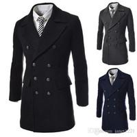 Mens Wool Dress Coat